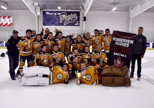 Meadowvale Bantam A Off to a Good Start!