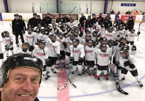 Meadowvale Hockey hosts their first 'First Shift Program'