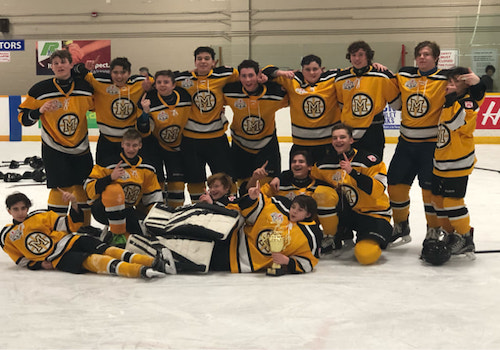 Meadowvale Minor Midget Red 103 Tournament Champions Meadowvale