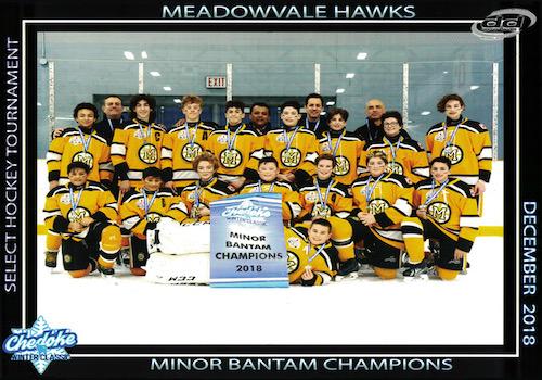 Chedoke Winter Classic Champions