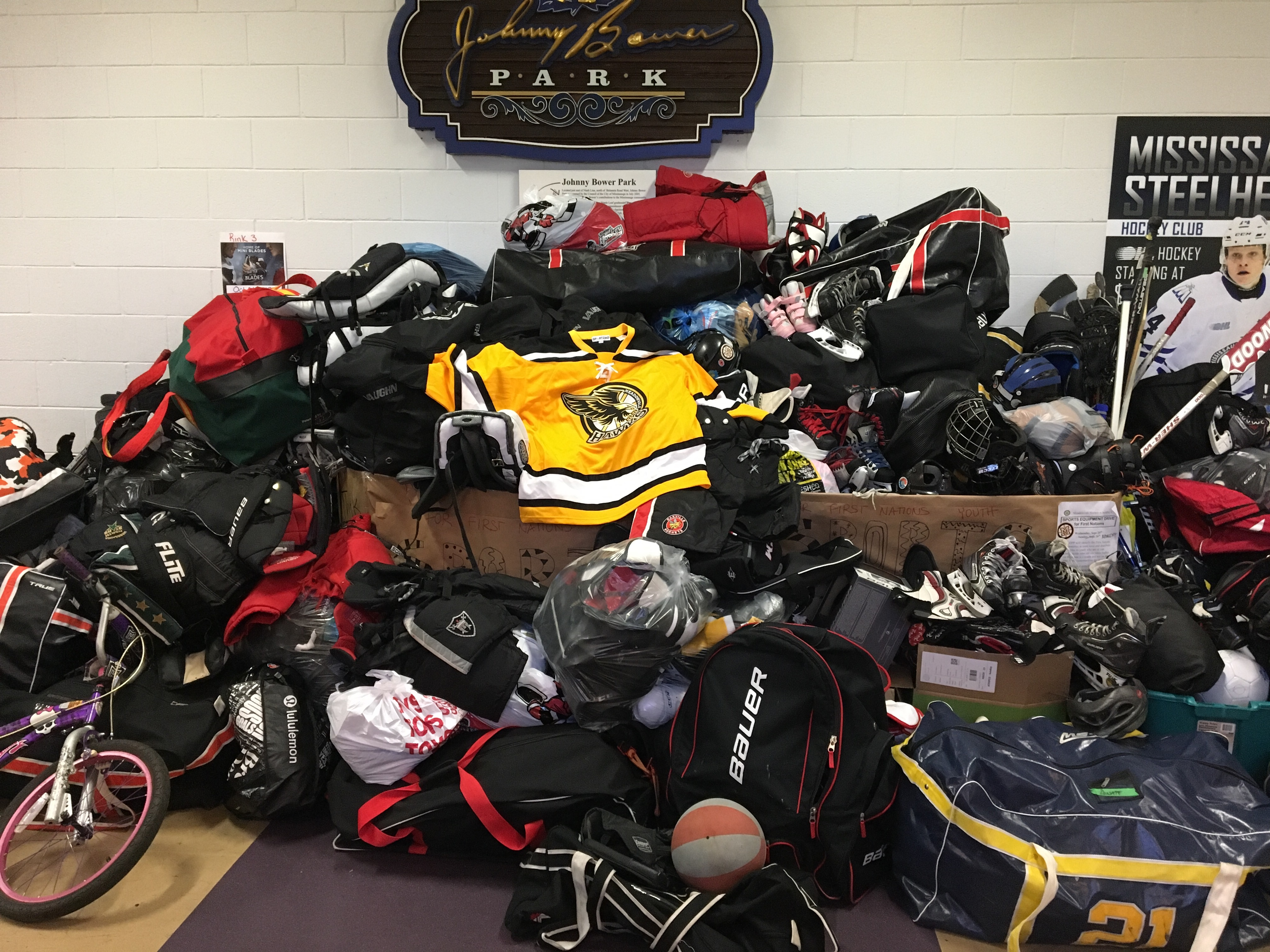 Sports Equipment Drive For First Nations Communities Update