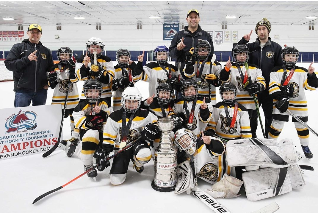 Minor Novice Gold tournament Champions